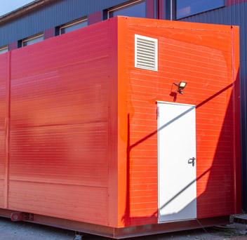 Mika Muntola 1MW container boilerhouse