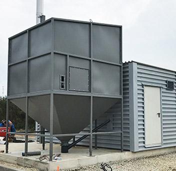 Olustvere TMK 0.2MW container boilerhouse